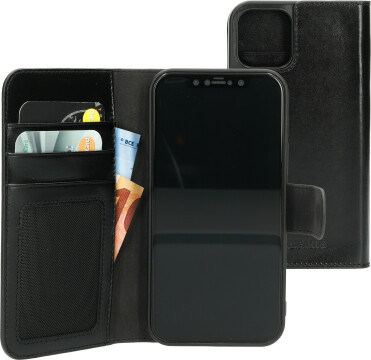 Mobiparts Excellent Wallet Case 2.0 Apple iPhone 12/12 Pro Jade Black