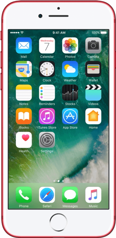 Apple Refurbished A-grade iPhone 7 128GB Red