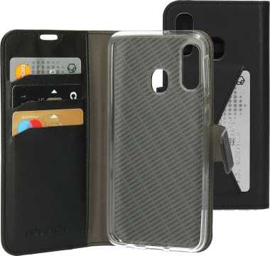 Mobiparts Classic Wallet Case Samsung Galaxy A40 (2019) Black