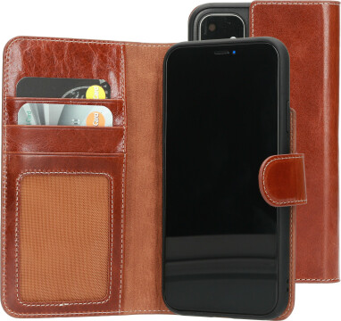 Mobiparts Excellent Wallet Case 2.0 Apple iPhone 11 Oaked Cognac