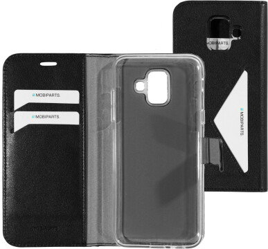 Mobiparts Classic Wallet Case Samsung Galaxy A6 (2018) Black