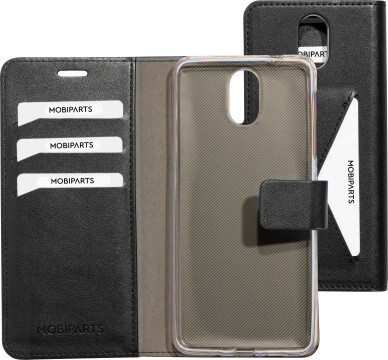 Mobiparts Classic Wallet Case Nokia 3.1 Black