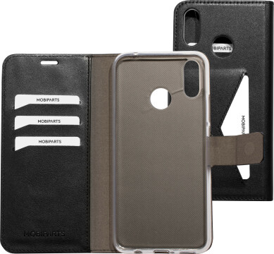Mobiparts Classic Wallet Case Huawei P Smart Plus (2018) Black