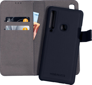Mobiparts 2 in 1 Premium Wallet Case Samsung Galaxy A9 (2018) Black