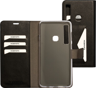 Mobiparts Classic Wallet Case Samsung Galaxy A9 (2018) Black
