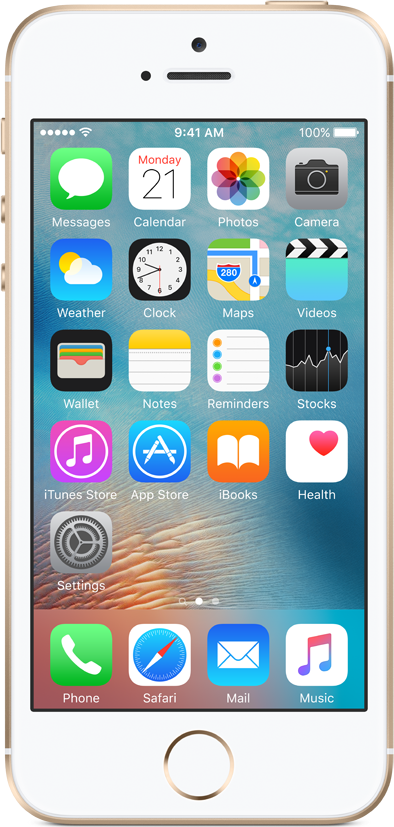 Apple Refurbished A-grade iPhone SE 16GB Gold