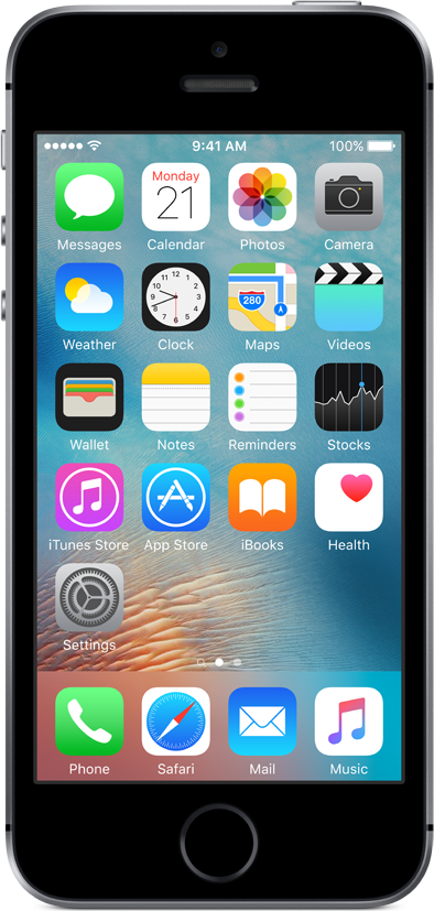 Apple Refurbished A-grade iPhone SE 16GB Space Grey