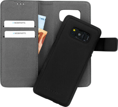 Mobiparts 2 in 1 Premium Wallet Case Samsung Galaxy S8 Black
