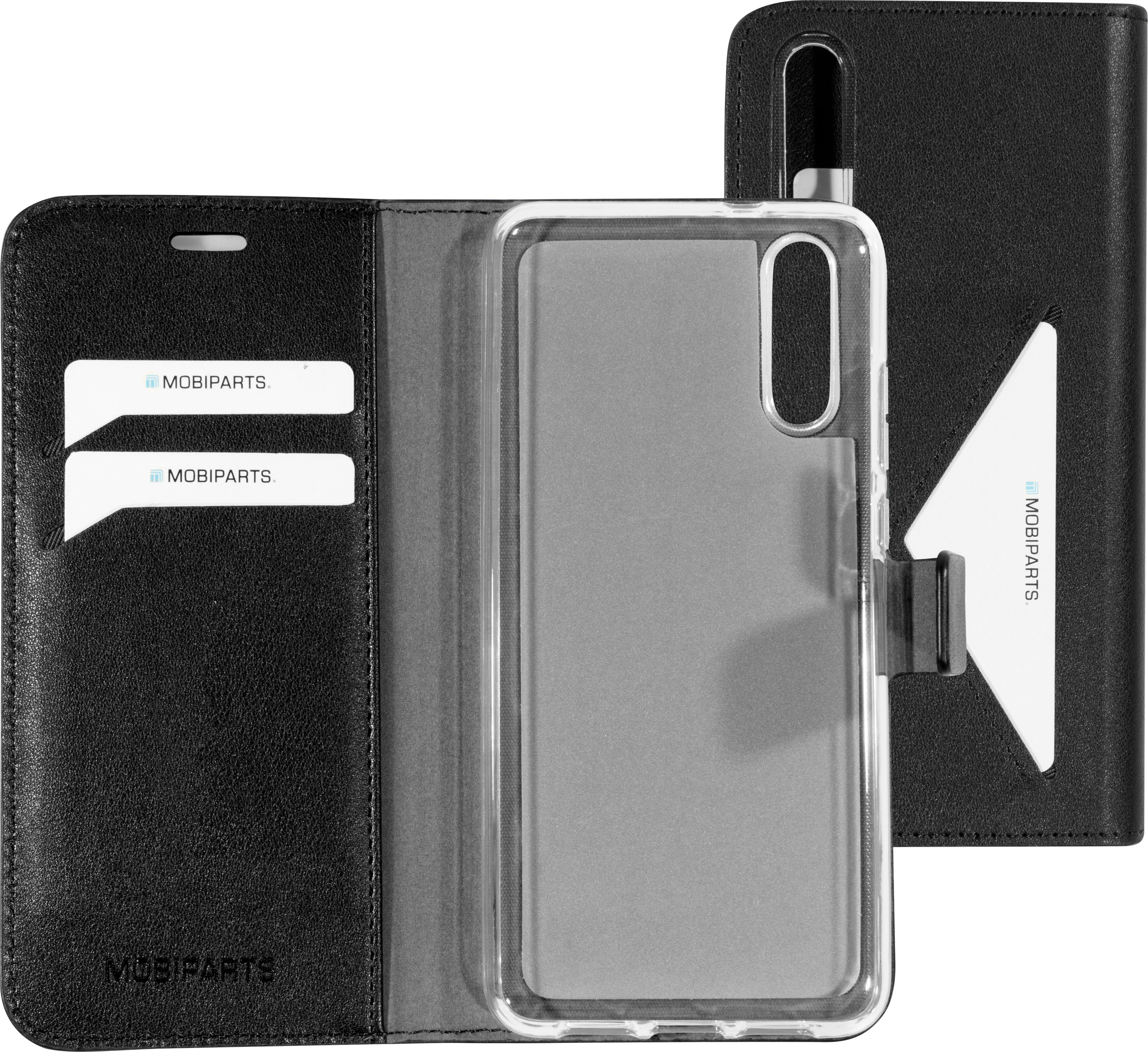 Mobiparts Classic Wallet Case Huawei P20 Black