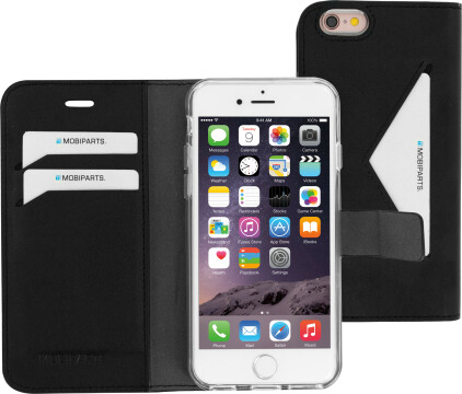 Mobiparts Classic Wallet Case Apple iPhone 6/6S Black