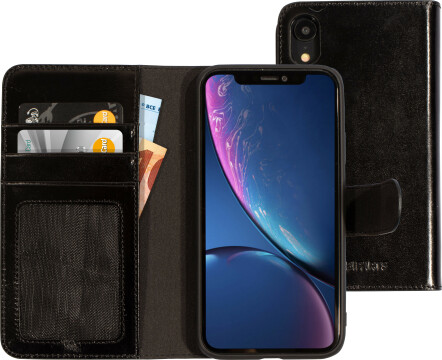 Mobiparts Excellent Wallet Case 2.0 Apple iPhone XR Jade Black