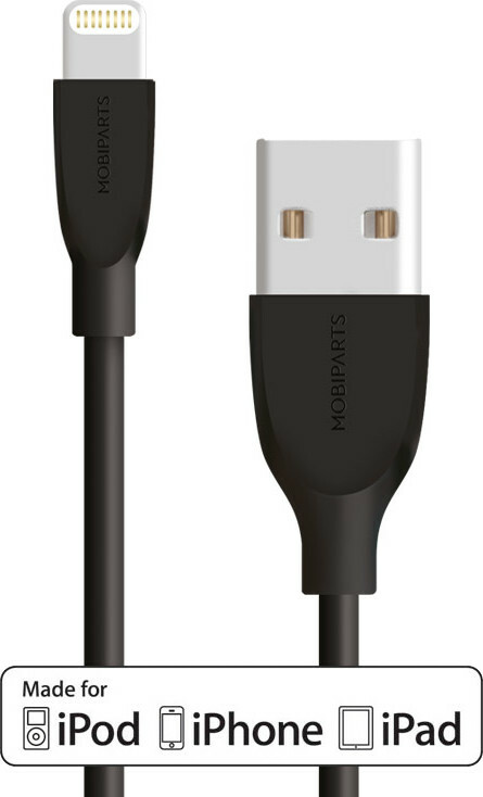 Mobiparts Apple Lightning to USB Cable 2A 1m Black