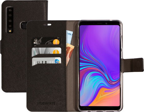 Mobiparts Saffiano Wallet Case Samsung Galaxy A9 (2018) Black