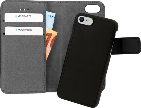 Mobiparts 2 in 1 Premium Wallet Case Apple iPhone 7/8 Black