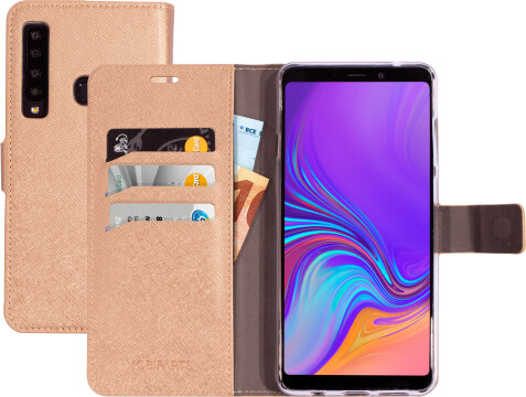 Mobiparts Saffiano Wallet Case Samsung Galaxy A9 (2018) Copper