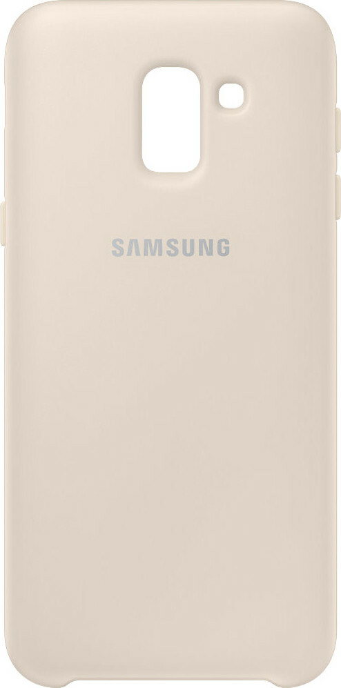 Samsung Galaxy J6 (2018) Dual Layer Cover Gold