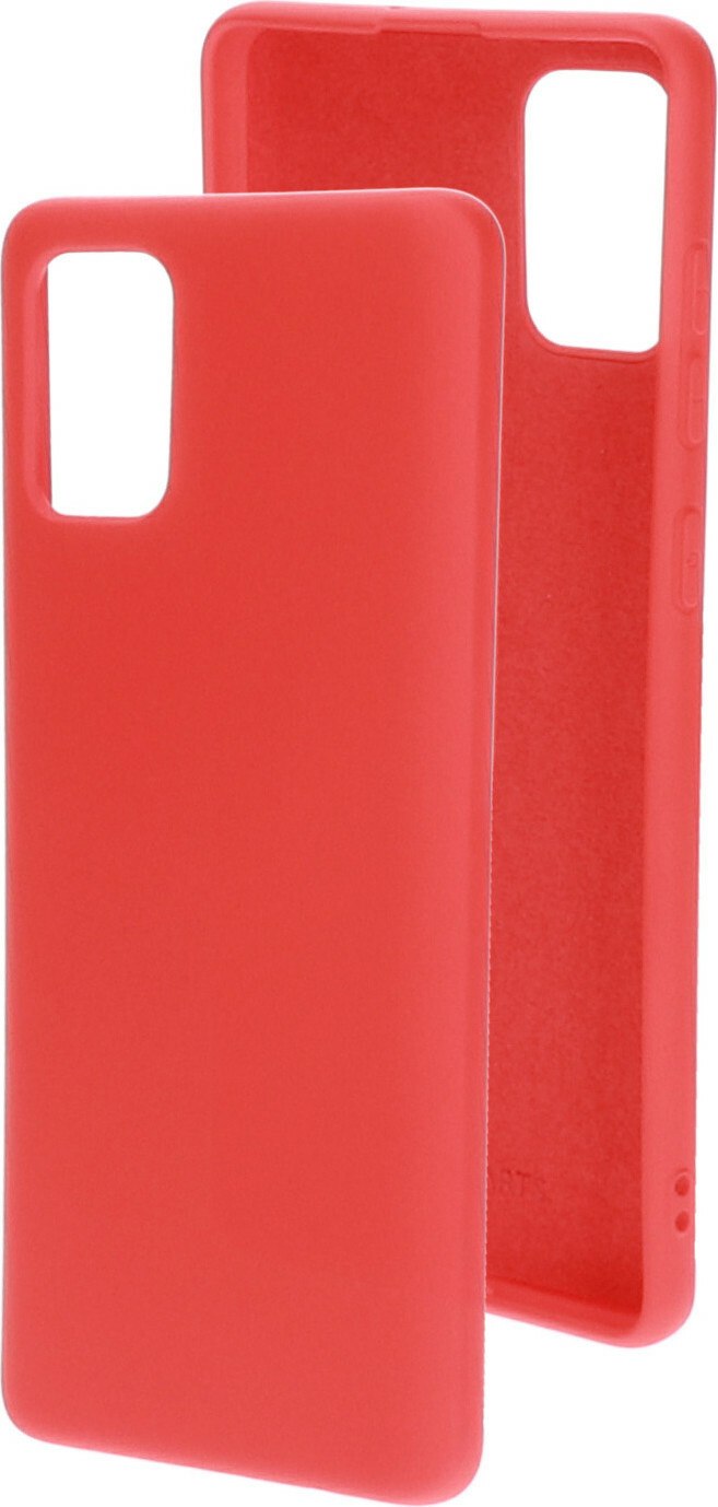 Mobiparts Silicone Cover Samsung Galaxy A71 (2020) Scarlet Red