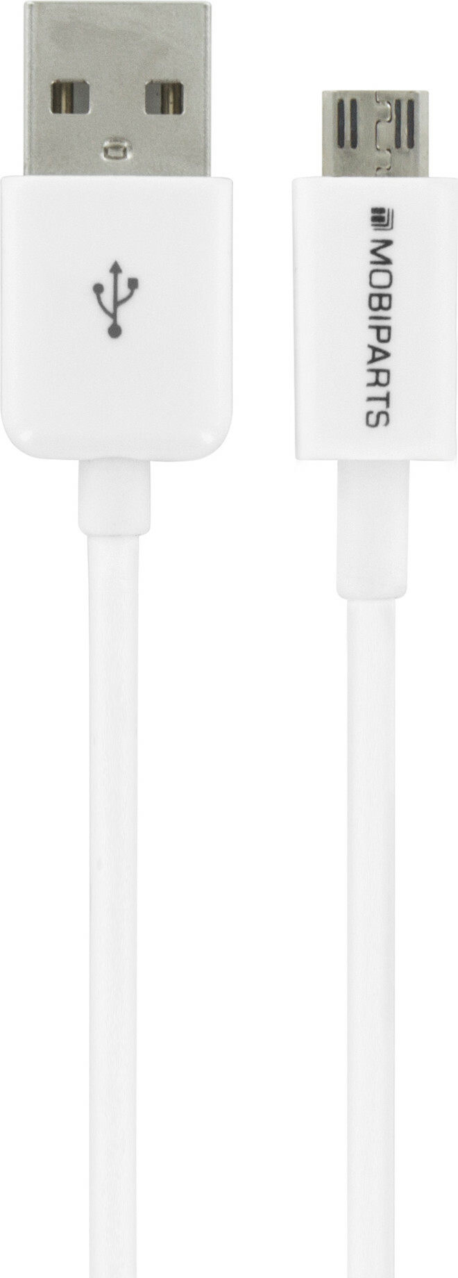 Mobiparts Micro USB to USB Cable 2.4A 3m White (Bulk)